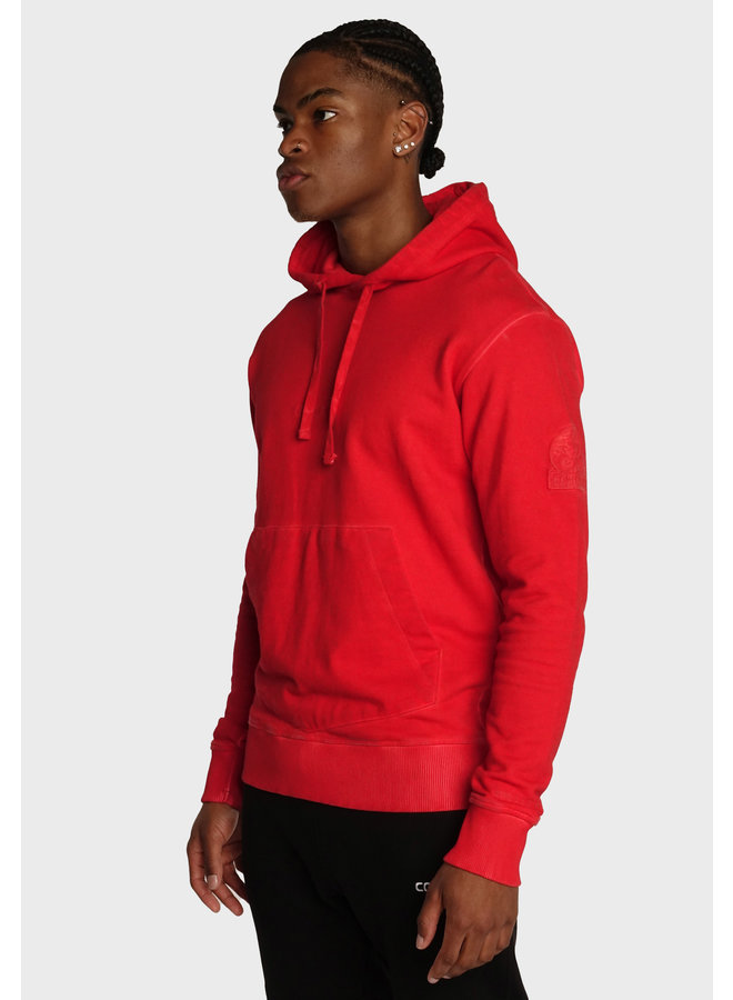 Conflict Dye Hoodie Essentials Rot