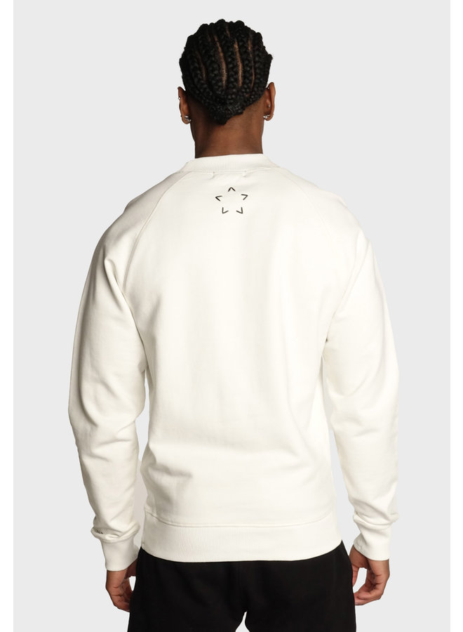 Conflict Raglan Sweater Essentials Weiß