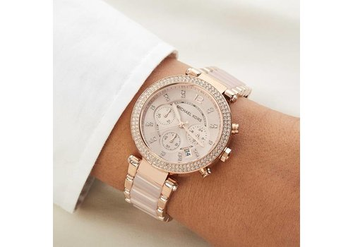 Rosé Goud Horloge