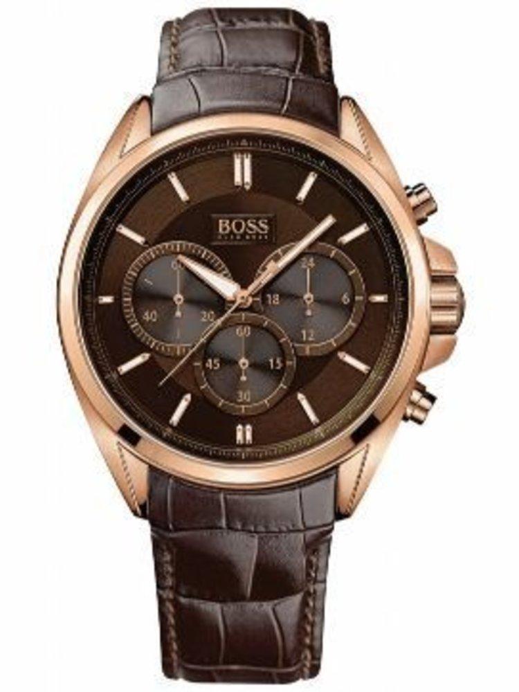 7cfd17f366c Hugo Boss HB1513036 Herenhorloge - tot 65% korting| Wowwatch.nl