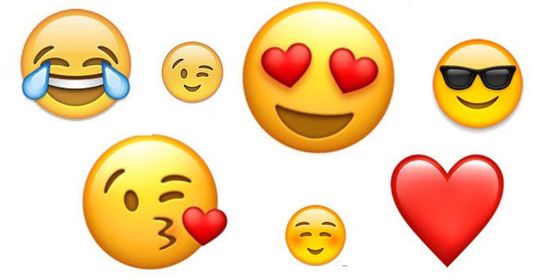 Wat zijn de populairste emoji?