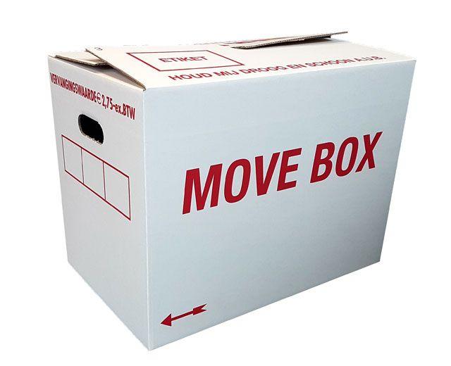 MOVE BOX autolock verhuisdozen pakket 20 stuks