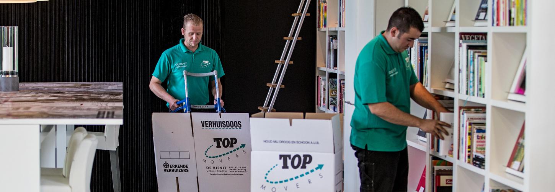 Verhuisdozen inpakken als een professional
