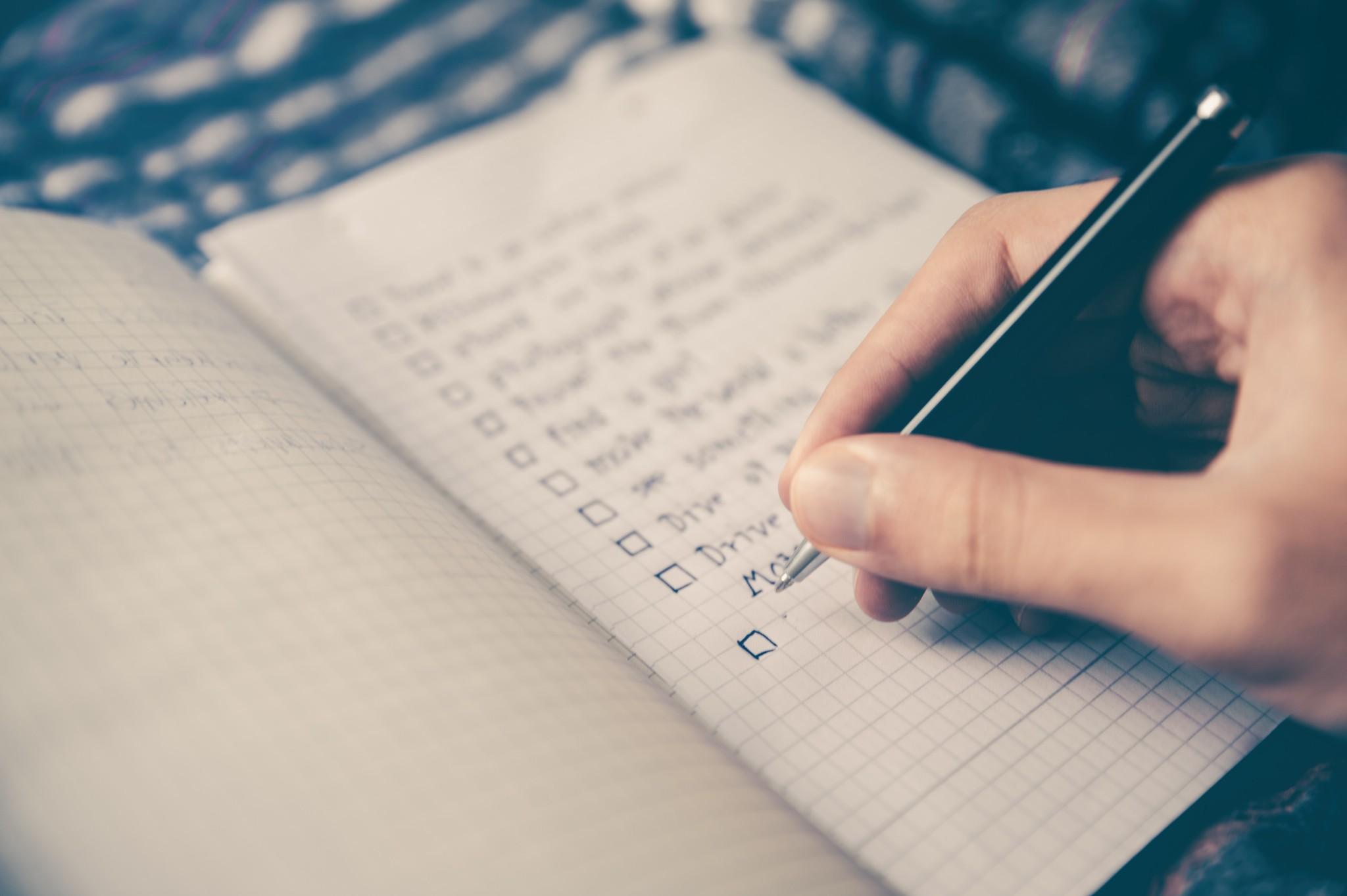 Checklist verhuizing doorgeven