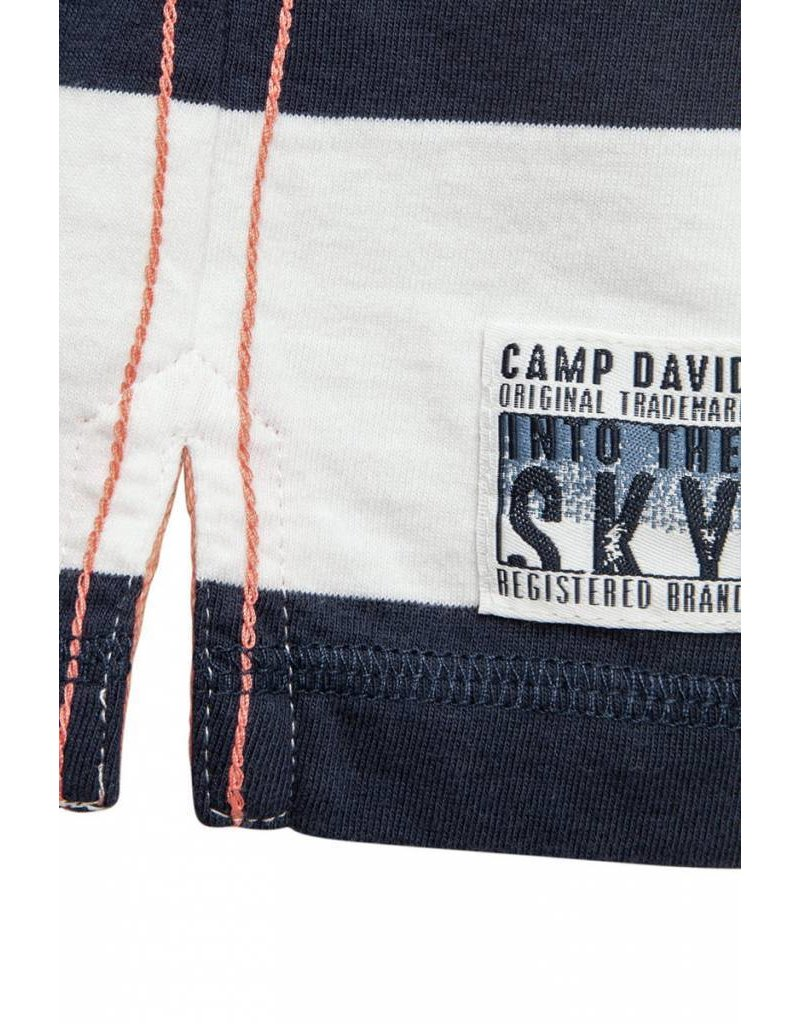Camp David ® Poloshirt Flight Stripes