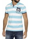 ® Poloshirt Flight Stripes