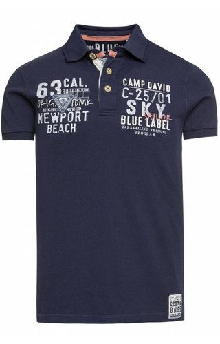 Camp David Camp David ® Poloshirt Newport Beach