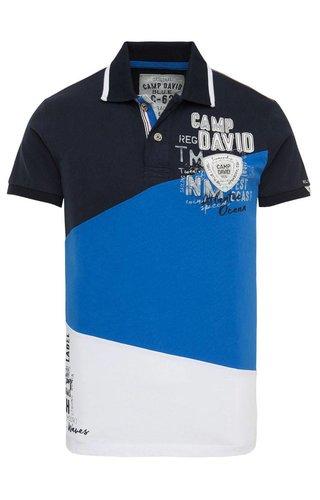 Camp David Camp David ® Poloshirt Tricolor