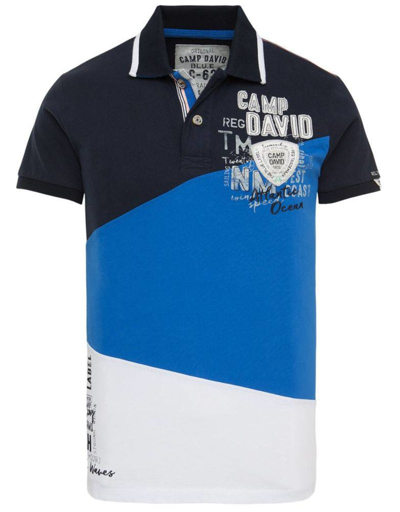 Camp David ® Poloshirt Tricolor