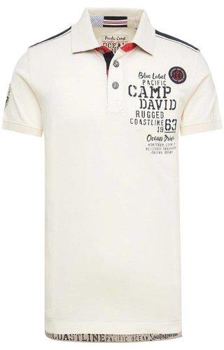 Camp David Camp David ® Poloshirt Monterey, Ivory