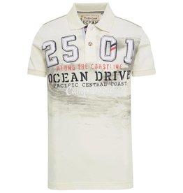 Camp David Camp David ® Poloshirt Ocean Drive, Ivory