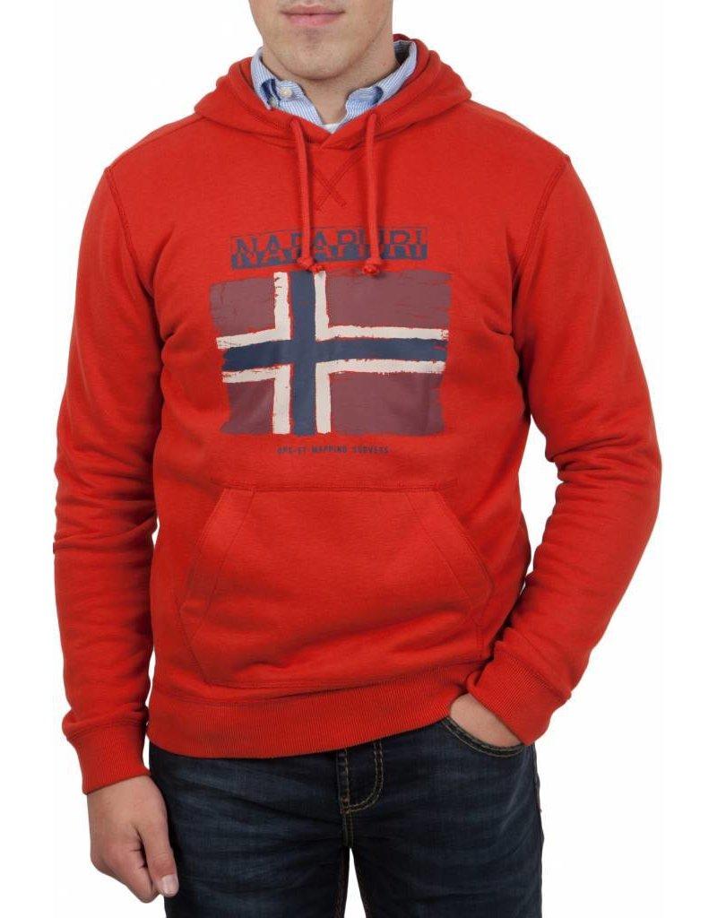 Napapijri ® Sweatshirt met capuchon Flag