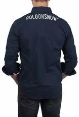La Martina ® Overhemd Maserati Poloteam Donkerblauw