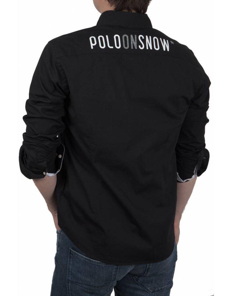 La Martina ® Overhemd Maserati Poloteam Zwart