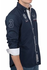 La Martina ® Overhemd Bariloche Donkerblauw