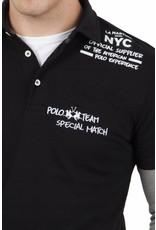 La Martina ® Poloshirt NYC, Zwart