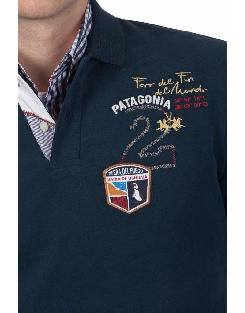 La Martina La Martina ® Polo Sweatshirt Patagonia, Donkerblauw