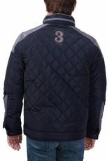 van Santen & van Santen ® Jack Stepped logo, Donkerblauw