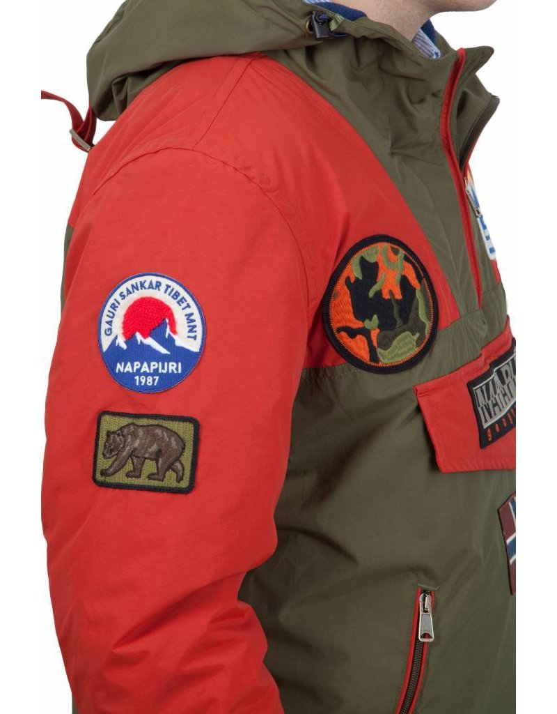 Napapijri Rainforest Jack, Badge