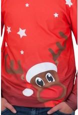 Rudy Land Kersttrui X-Mas Red