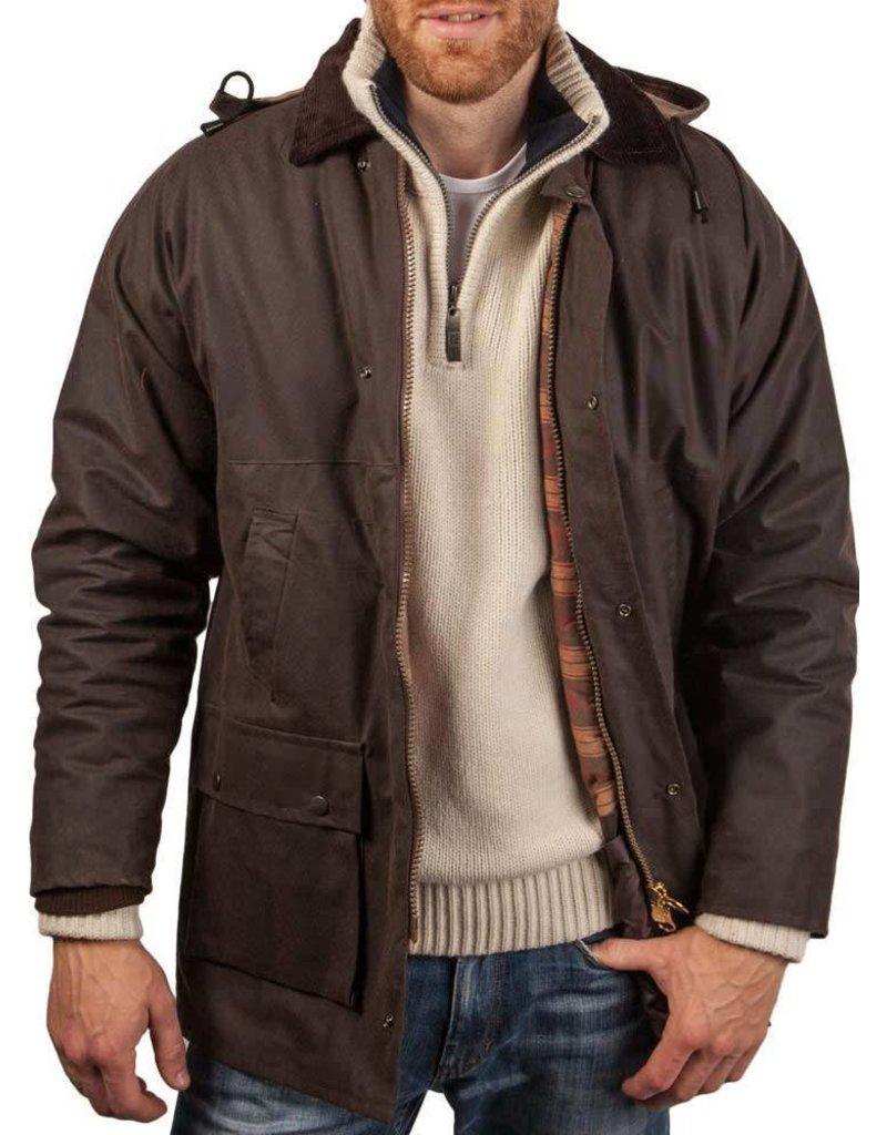 W & H Mens Hunting Waxed Coat