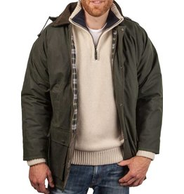 W & H Mens Hunting Waxed Coat