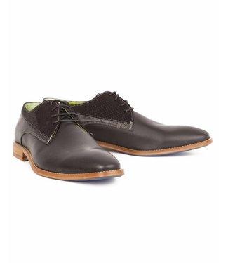 Berkelmans Schoenen Leder, zwart