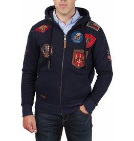 Top Gun Top Gun ® Hoodie met patches
