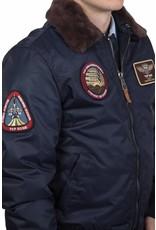 Top Gun B-15 nylon Bomberjack met vervangbare patches