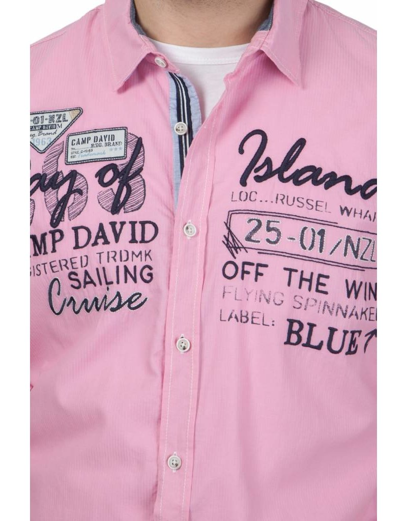 Camp David ® Shirt Bay of Island