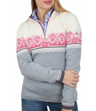 Dale of Norway Dale of Norway ® St.Moritz Dames Pullover, grijs/wit
