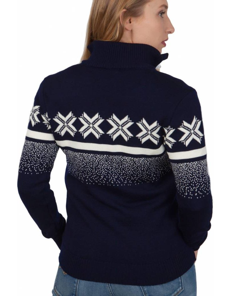 Dale of Norway ® Olympic Passion Dames Pullover, Donkerblauw