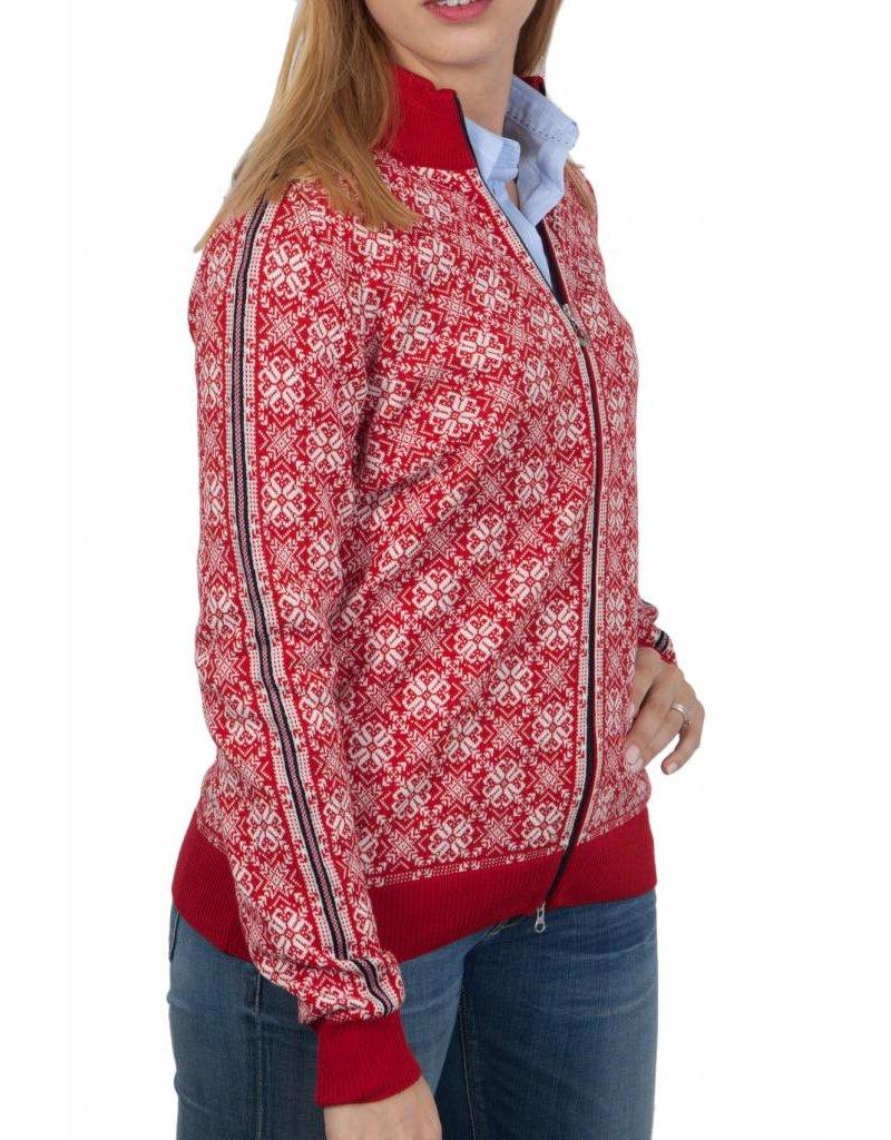 Dale of Norway ® Frida Dames Vest, rood