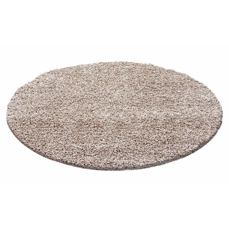 ben je op zoek naar een leuke ronde hoogpolige vloerkleed in de