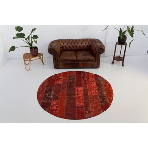 BURANO PATCHWORK ROOD ROND