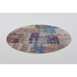 BURANO PATCHWORK MULTI ROND