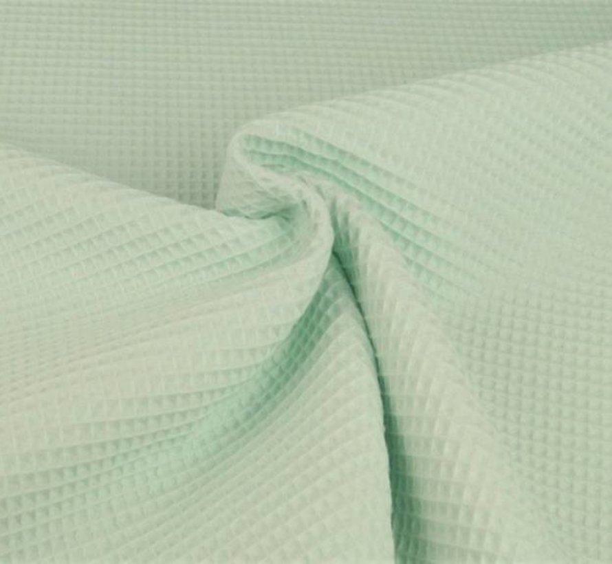 Mint groen - wafeldoek klein