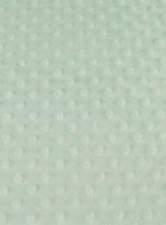 Decostoffen Mint groen - minky fleece
