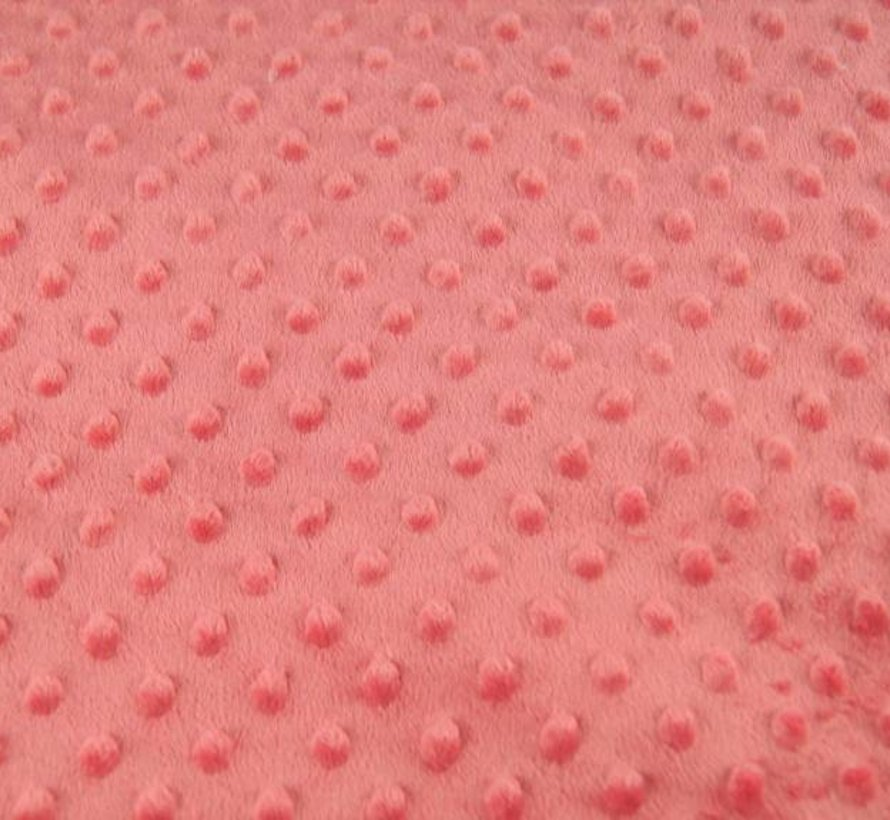 Abrikozen - minky fleece