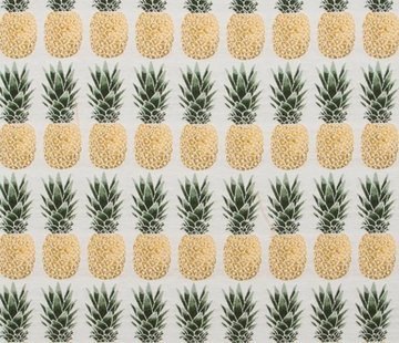 Decostoffen Ananas jacquard