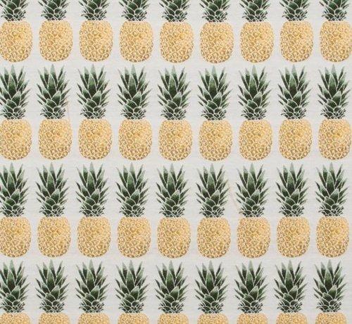 Decostoffen Ananas jacquard meubelstof