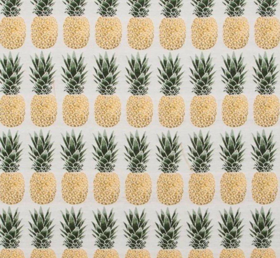 Ananas jacquard meubelstof