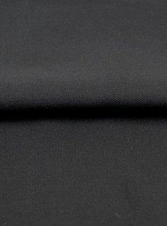 Zwart - canvas katoen