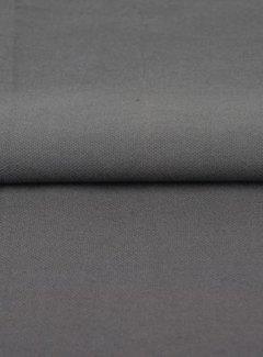 Grijs - canvas katoen