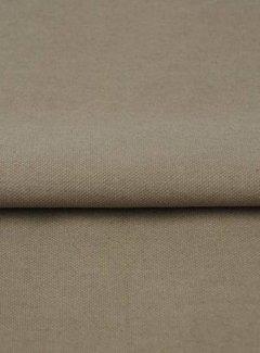 Donker beige - canvas katoen