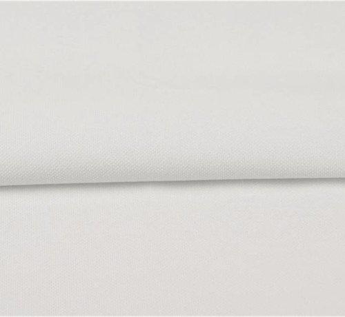 Decostoffen Wit - canvas katoen