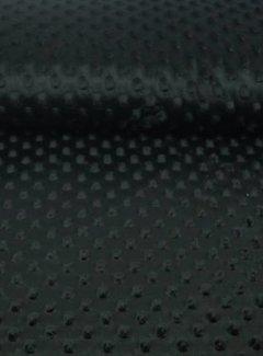 Decostoffen Zwart - minky fleece