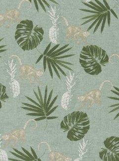 Tropische print - ottoman print