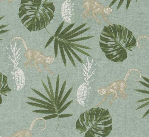 Decostoffen Tropische print - ottoman print