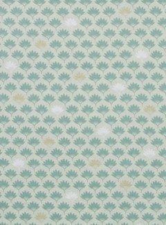 Bladeren - ottoman print